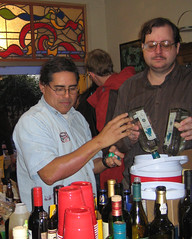 Julio & Chuck Making Margaritas