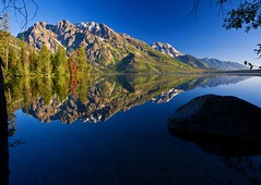 reflection - Jenny Lake - Grand Teton NP - Jackson Hole Wyoming  01 - Explore! photo by Tucapel