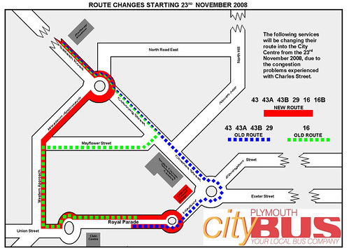 Citybus Map 1 West
