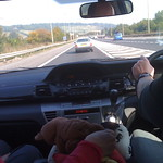 A picture from the back seat<br/>28 Sep 2008
