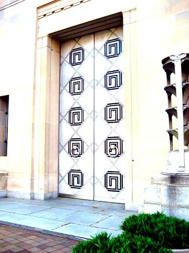 Door of Justice: Dept. of Justice, Washington D.C.