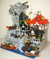 """Pillage the village entry, finished. photo by Daniel Z """"DNL"""""""