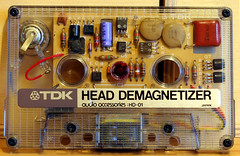 TDK Cassette Head Demagnetizer HD-01 photo by Jay Tilston