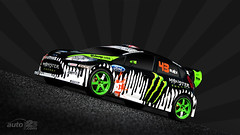 2010 Ken Block's Ford Fiesta Rally Car Wallpaper photo by Auto123.tv