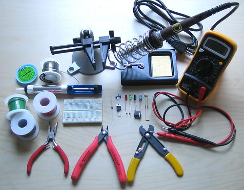 ladyada s electronic toolbox adafruit industries makers hackers
