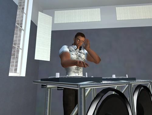 DJing in a Loft