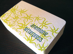 Business Cards photo by Anemone Letterpress