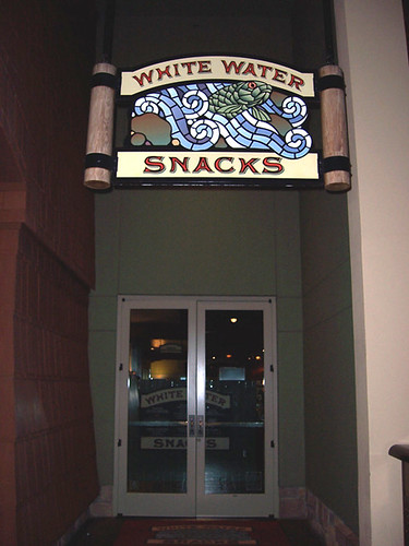 Outside White Water Snacks