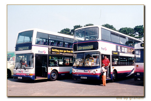 First Bristol W819PAE and First Western National X503BFJ