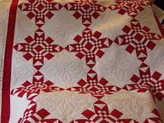 Red and White photo by Jessica's Quilting Studio