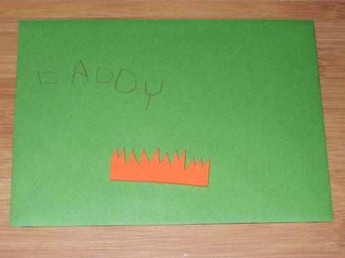 Aaron's card