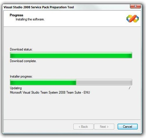 Visual Studio Service Pack Preparation Tool