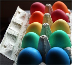 Easter eggs photo by Torsten Reuschling
