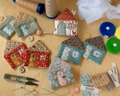 WIP - House Tape Measures photo by PatchworkPottery