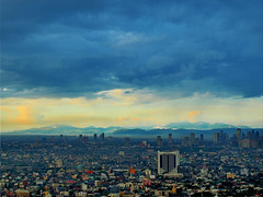 Mountains behind Makati City - Manila, Philippines photo by neilalderney123