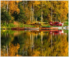 Colors, Fire Lake photo by Kayak49