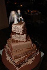 Bolo de Casamento. photo by Djalmma Reinalldo (Cake Designer)