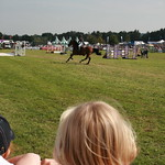Watching the horse jumping<br/>21 Sep 2008