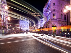 Piccadilly Circus at Night photo by -phil-