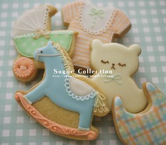 baby shower cookies 2 photo by JILL's Sugar Collection