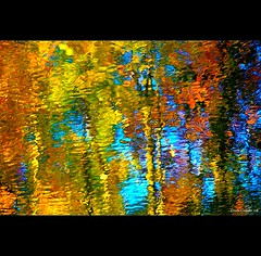 Rivière arc-en-ciel...!!! by Denis Collette...!!!