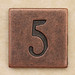 Copper Square Number 5