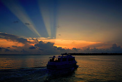 Sunset Cruise..Key West Florida photo by Bernie Kasper