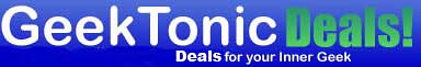 GeekTonic Deals - for the best coupons and discounts in tech