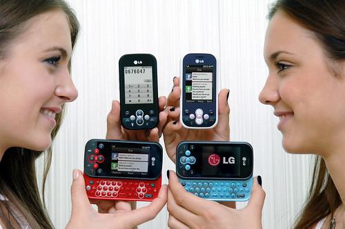 LG전자 메신저폰 출시
