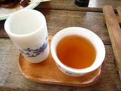 Taiwan Oolong Tea tasting set -Flavour smelling cup & tea cup photo by Formosa Wandering