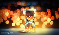 Bokeh in sandglass-Seize the moment photo by 人造人間,意慾蔓延