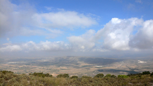 Vistas hacia Villena