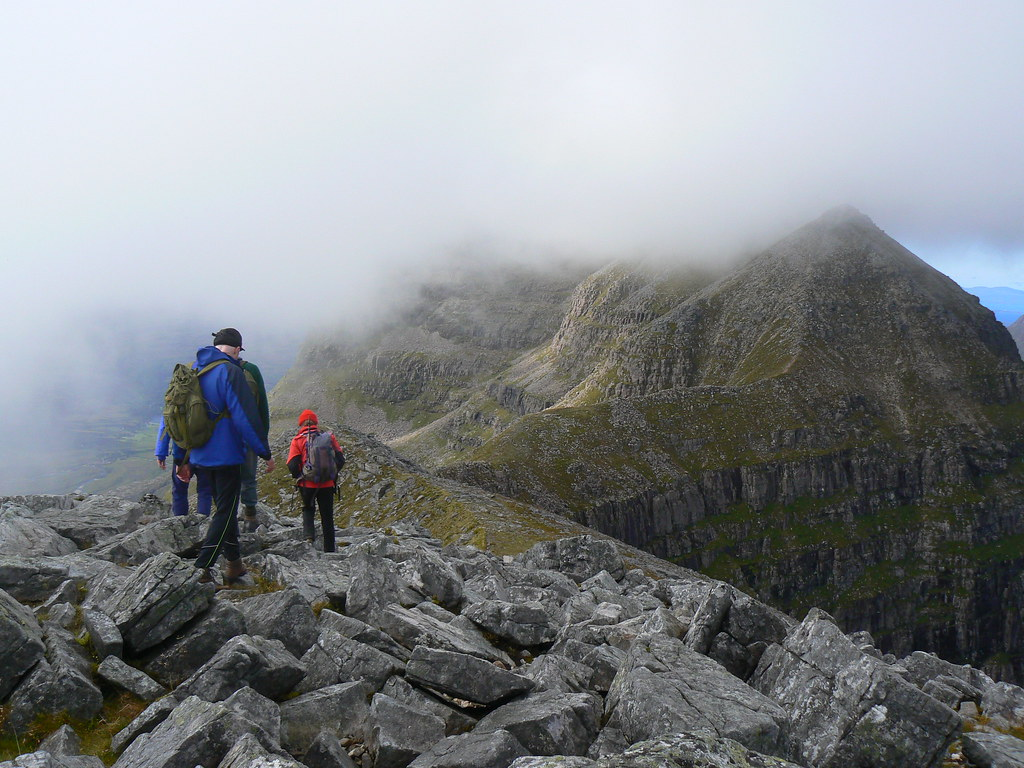 The ridge of Liathach
