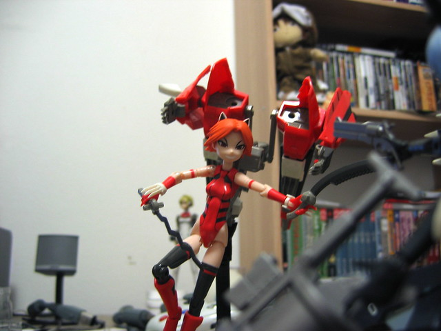 Busou Shinki - Action Poses! | Flickr - Photo Sharing!