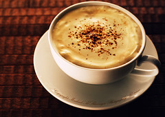Cappuccino With Commercial Touch photo by Mashael Al-Shuwayer