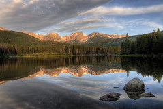 Sprague Lake Sunrise - Rocky Mountain National Park photo by shorbo