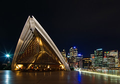 Sydney Opera House and Skyline at Night photo by Craig Jewell Photography