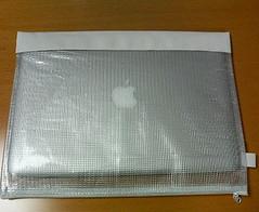 100円袋に入ったMac