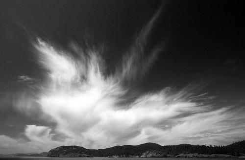Cloud over Fidalgo Island