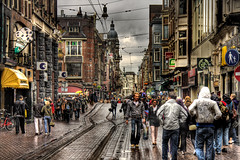 A Wet Weekend In Amsterdam photo by BarneyF