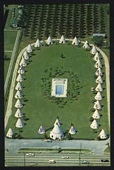 Wigwam Village #4 1964 with POOL photo by john4kc
