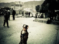 Boy - Xining photo by mattlindén