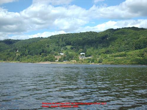 Retenue du barrage de Bort-les-Orgues (Corrèze et Cantal) 2