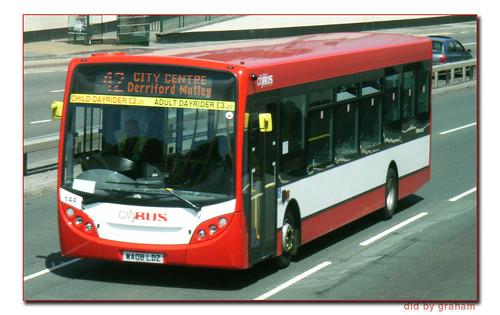 Plymouth Citybus 144WA08LDZ
