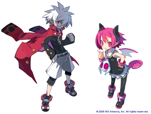 Disgaea 3: Absence of Justice video game wallpaper