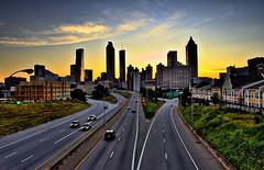 Atlanta's cityscape photo by ryotnlpm