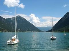 Journey along the Achensee, Austria photo by Batikart