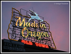 White Stag - Made in Oregon - Portland, Oregon photo by Vintage Roadside