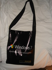 PDC2008 conference bag