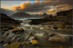 The Cuillins at Sunset photo by Ally Mac